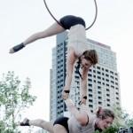 Photo duo cerceau planche Jazz 29 juin 2013